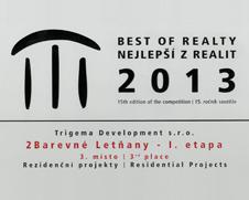 Best of Realty 3.misto - 2Barevné Letňany